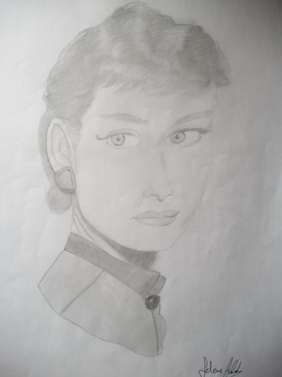 Audrey Hepburn by Selene